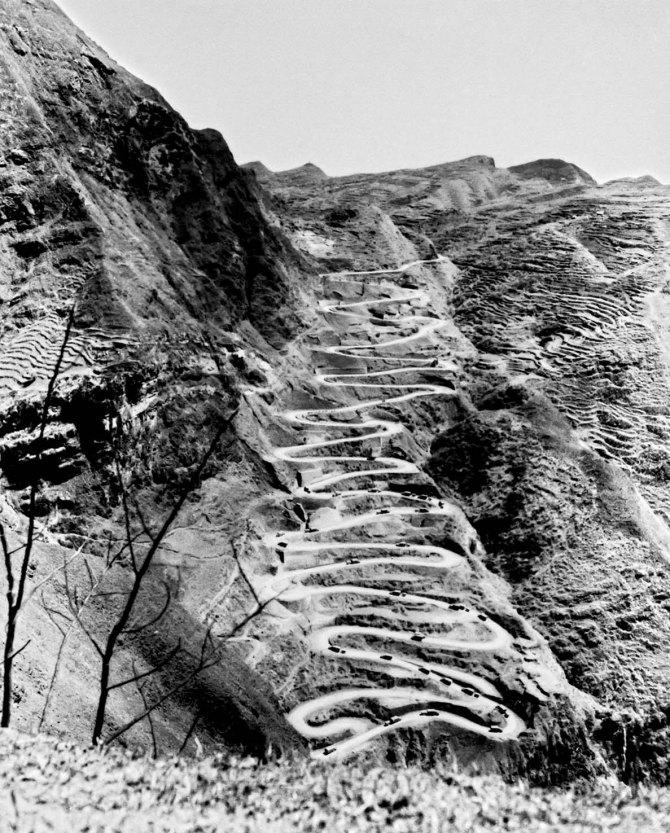 turns in Burma Road, China 1945