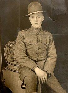 Portrait of Private Moran