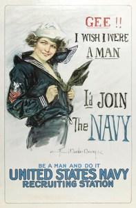 Christy Navy Poster