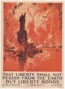 That Liberty Shall Not Perish from the Earth:Buy Liberty Bonds Poster