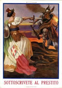 Sottoscrivete al Prestito, 1917 Poster