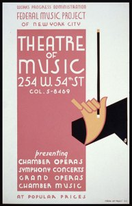Theater of Music Poster