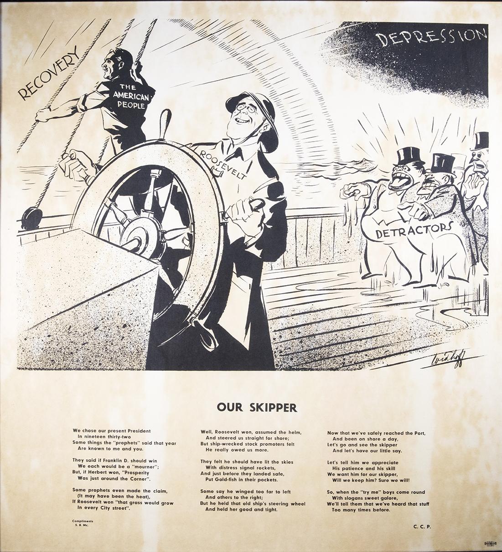 Our Skipper. 1936. (FDRL)