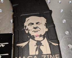 Maga-zine Trump Laser Engraved Pmag