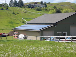 10 KW Coldstream Shop Solar