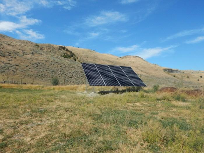 4.6KW Vernon Solar Groundmount