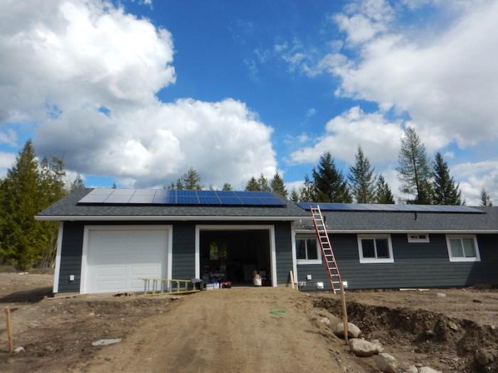 30 panel (8 kW ) system in Ashton Creek