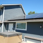 32 panel (9 kw) system in Salmon Arm