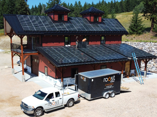 90 panel (28 (kW) system in Vernon