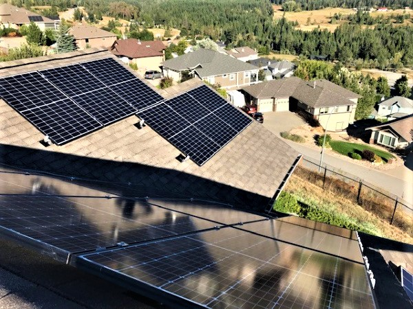 42 panel (14 kW) system in Vernon