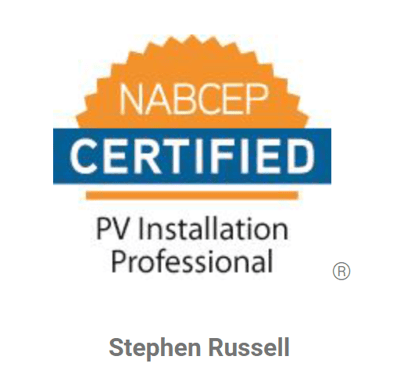 The Okanagan's ONLY NABCEP PV Installation Professional