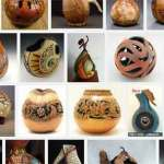 Gourd Sculptures by Nathan Thomas