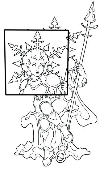Winter Avatar Coloring Page For Adults Root Inspirations