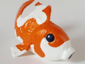 goldfish gourd sculpture