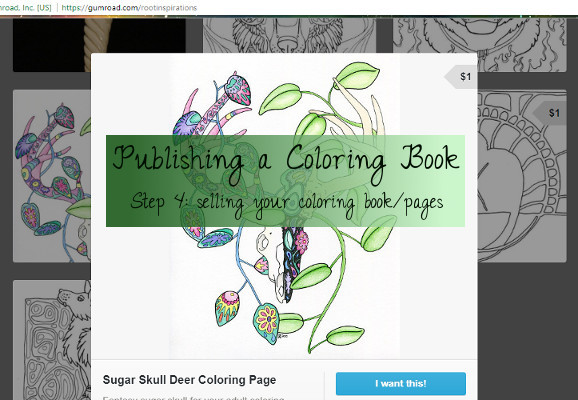 Coloring Book Publishing Selling Your Coloring Pages In Various Ways
