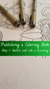 publishing a coloring book ink