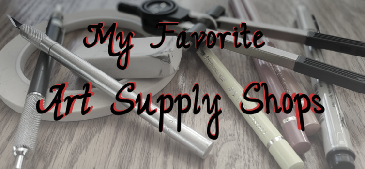 my favorite art supply shops