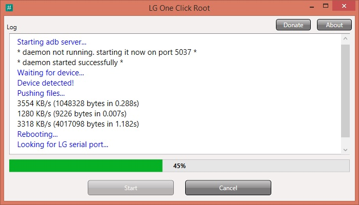 How To Root LG E975T Optimus G