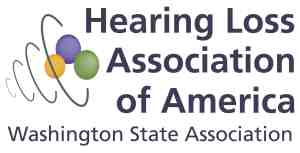 Hearing Loss Association of America - Washington State Association logo