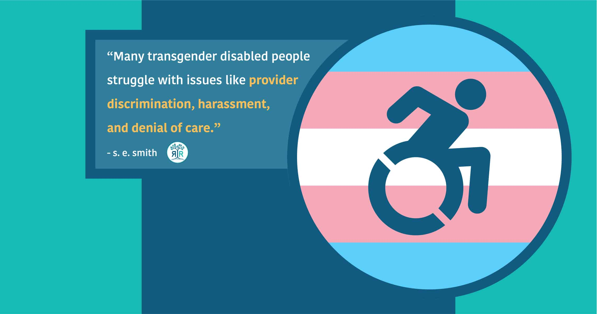 navigating the twists and turns of healthcare as a trans disabled