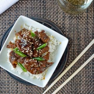 PF Chang Copycat Mongolian Beef