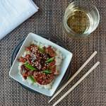 Fried in avocado oil, this is the best PF Chang's Mongolian Beef Copycat Recipe