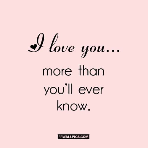 Wallpaper Love You More : I Love You More Than Quotes Pictures Wallpaper sportstle