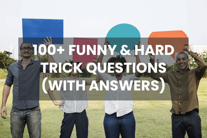 funny hard trick questions and answers