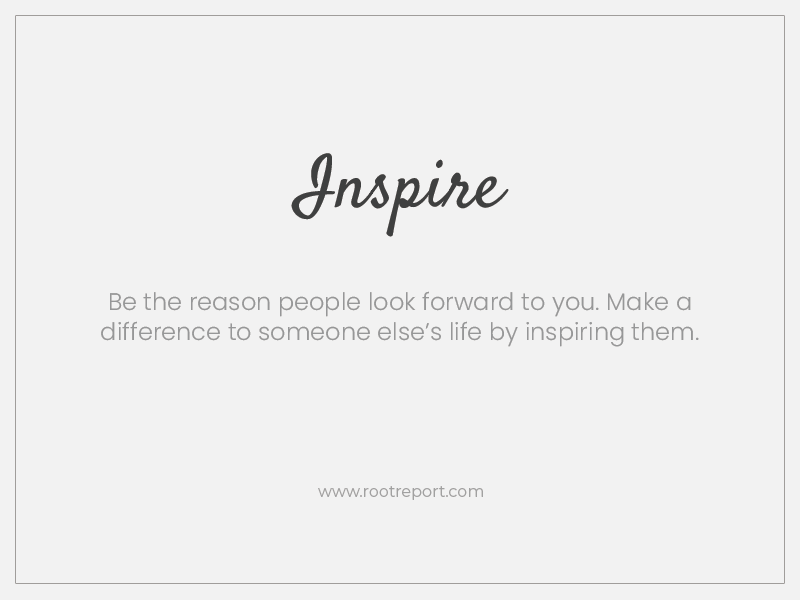 Inspire one word quote