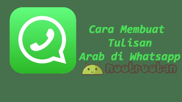 tulisan arab whstapp