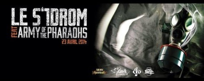 ARMY OF BASTARDZ - LE S'1DROM feat AOTP (Army of the Pharaohs) prod : Symphonik Bang