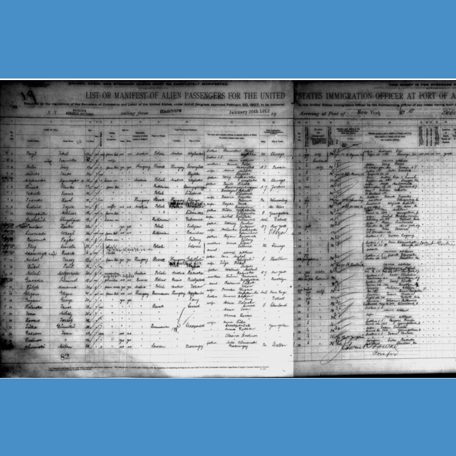 How I Solved It: MyHeritage Newly Indexed Ellis Island