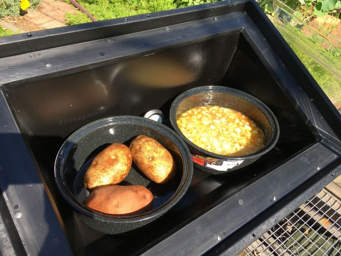 Camping Solar Cooker By Sun Ovens