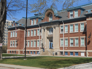 Nutana Collegiate Institute.  In the years 1912-1913, the Normal School rented rooms from the Saskatoon Collegiate Institute (later known as the Nutana Collegiate) for classes