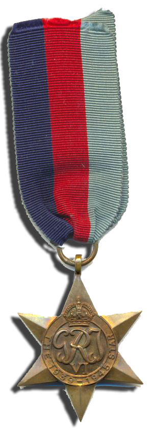 Commander Harold Wilson Balfour, V.D., RCNVR was awarded the 1939-1945 Star in World War II