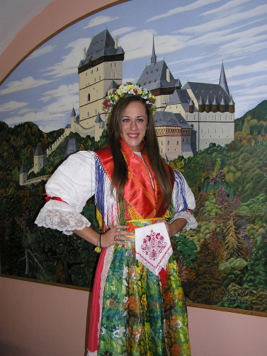Christiana Gentry, named Miss Harris County Czech-Slovak Queen 2008, is a member of the CCMH!