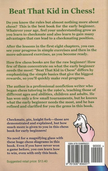 back cover of the chess book