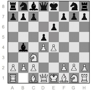 Winawer variation of the French opening