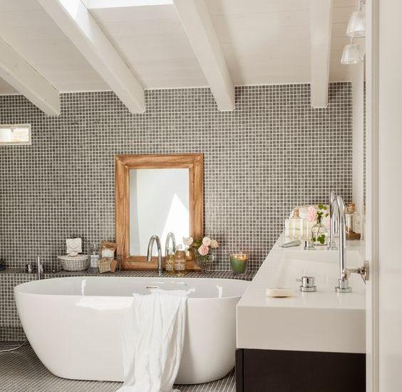 Decora tu baño con gresite - Roque Materiales
