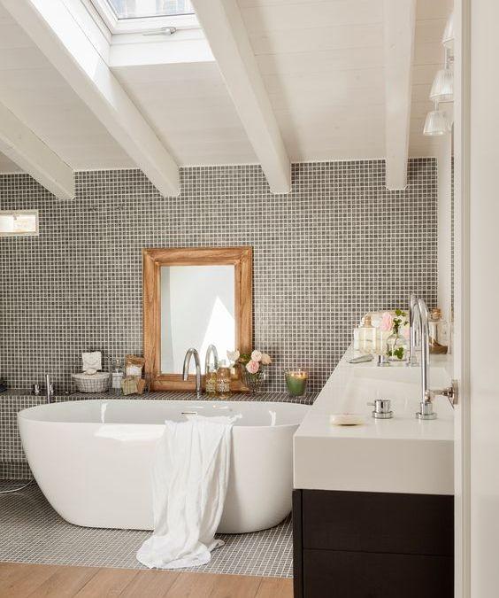 Decora tu baño con gresite