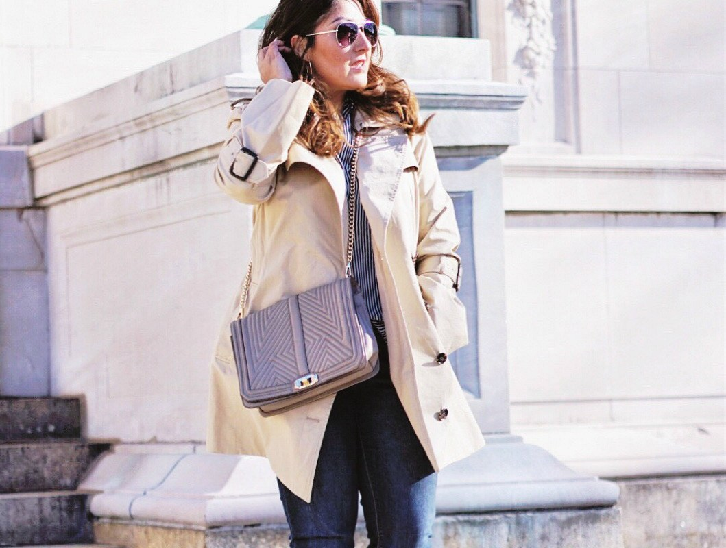 Casual Trench Coat Outfit