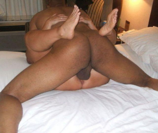 Black Dick On White Pussy