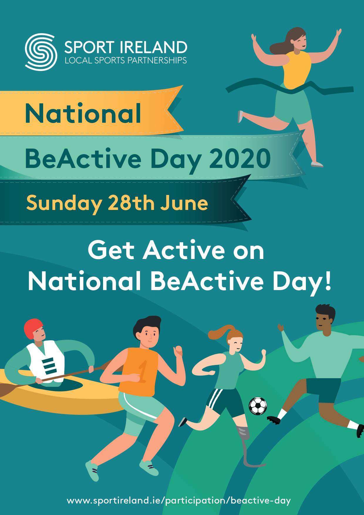 National BeActive Day June 28th