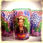 Rosalisa Kitsch Kitchen - Frida Kahlo kaarsje 2016
