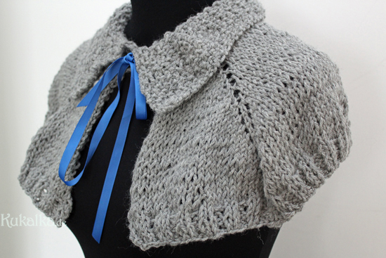 Outlander inspired Capelet ,Pattern, Perlerine Strickanleitung Knitting