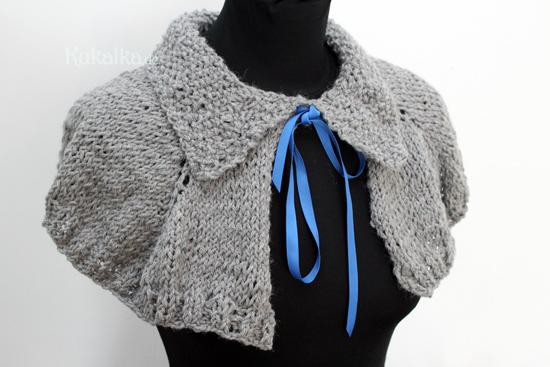 Outlander Capelet Pattern Perlerine Strickanleitung Knitting