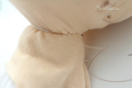 Puppen Hals dollmaking neck