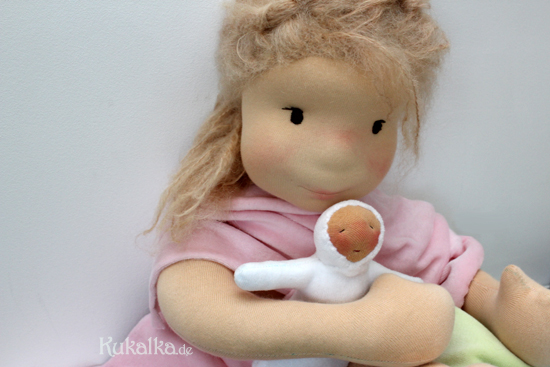 Filzkopf Waldorf Puppen
