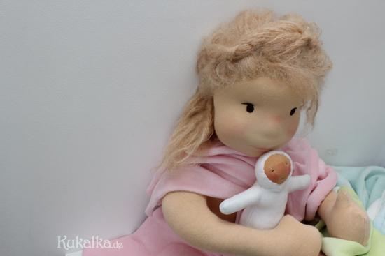 Filzkopf Waldorf Puppe