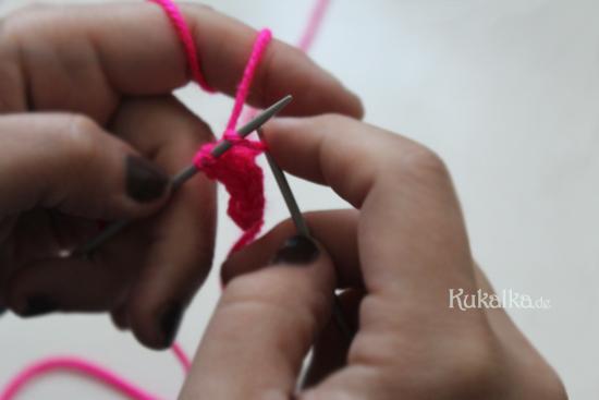 Strickanleitung Armband Haarband